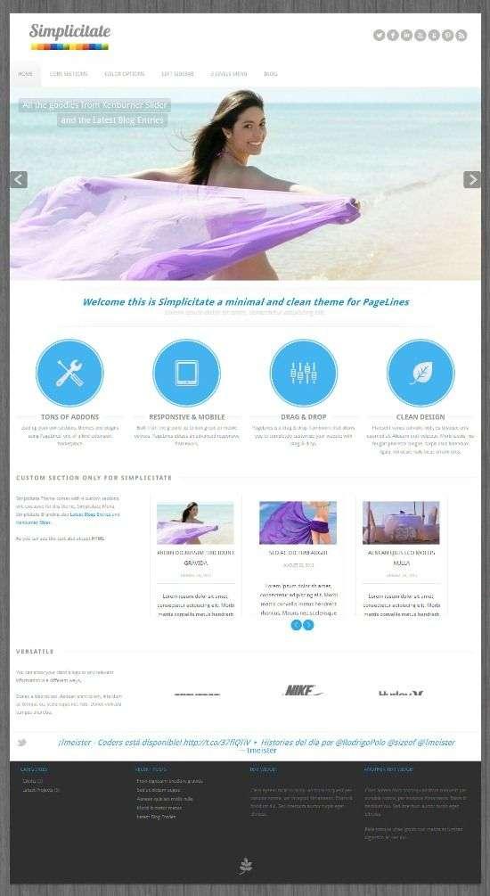 simplicitate pagelines avjthemescom 01 - Simplicitate WordPress Theme