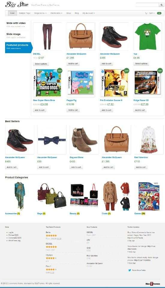 bizz store bizzthemes avjthemescom 01 - Bizz Store WordPress Theme