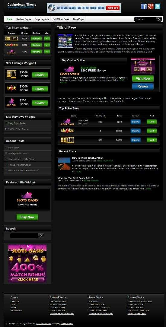 casinotown flytonic avjthemescom 1 - Casinotown WordPress Theme