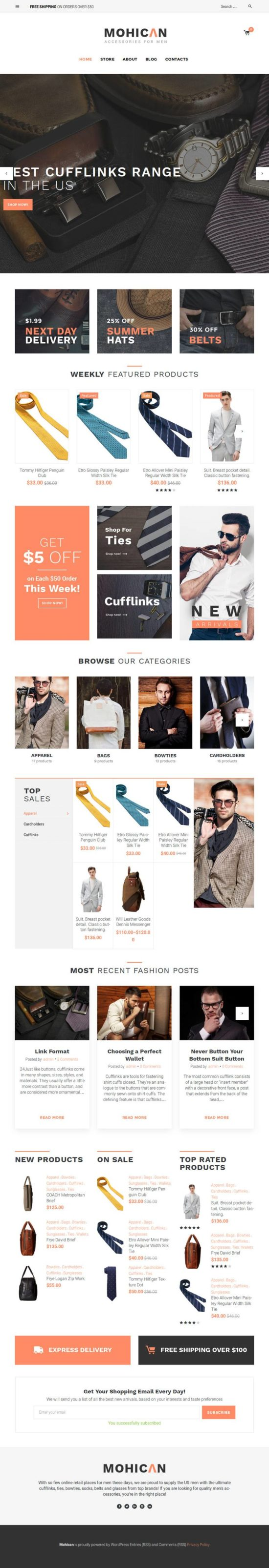 mohican templatemonster woocommerce theme 01 1 550x3212 - Mohican WordPress Theme