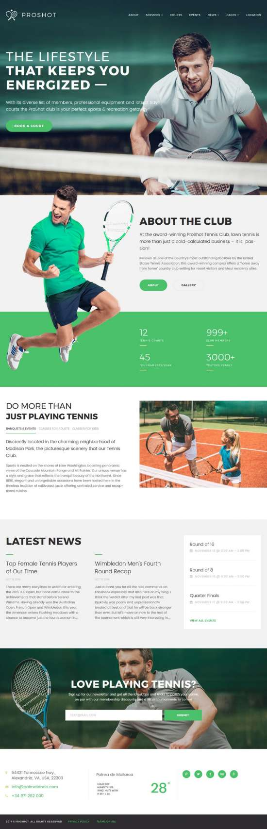 proshot wordpress theme sports theme 01 550x1708 - ProShot WordPress Theme