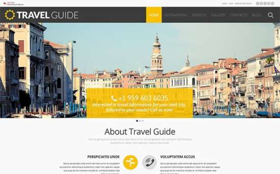 54988 big 550x342 - Top 10 Best Travel Agency WordPress Themes 2017