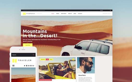 58562 big 550x342 - Top 10 Best Travel Agency WordPress Themes 2017