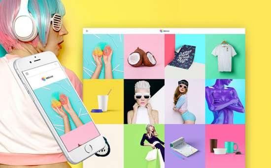 vichax wordpress theme 01 550x342 - Top 20 Fresh Feminine & Minimal WordPress Themes