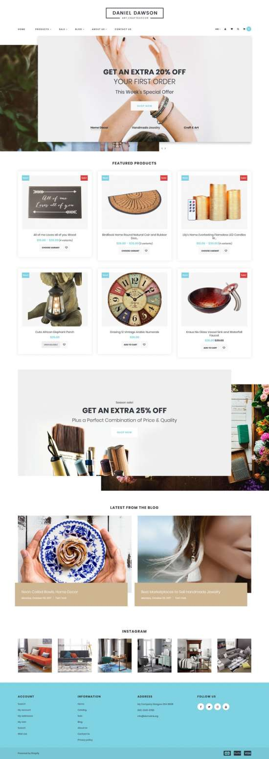 home decor shopify theme 01 550x1550 - Home Decor Shopify Theme