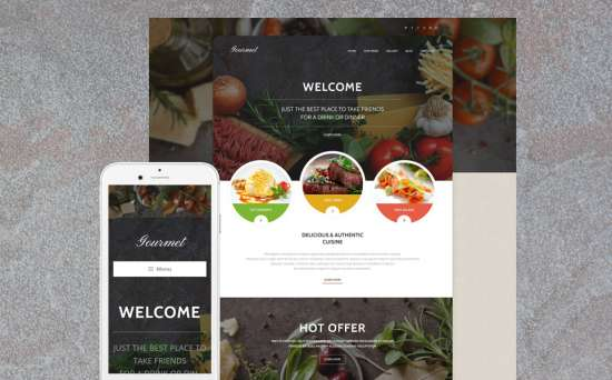 55376 big 550x342 - 17 Mouthwatering Food & Restaurant WordPress Themes