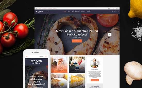 58395 big 550x341 - 17 Mouthwatering Food & Restaurant WordPress Themes