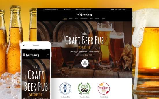 59005 big 550x342 - 17 Mouthwatering Food & Restaurant WordPress Themes