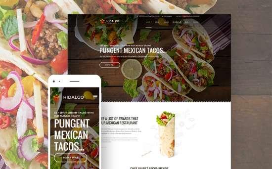 59006 big 550x342 - 17 Mouthwatering Food & Restaurant WordPress Themes