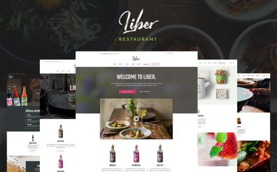 64028 big 550x341 - 17 Mouthwatering Food & Restaurant WordPress Themes