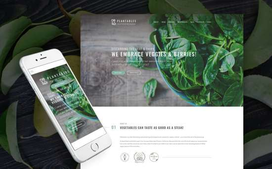64052 big 550x341 - 17 Mouthwatering Food & Restaurant WordPress Themes