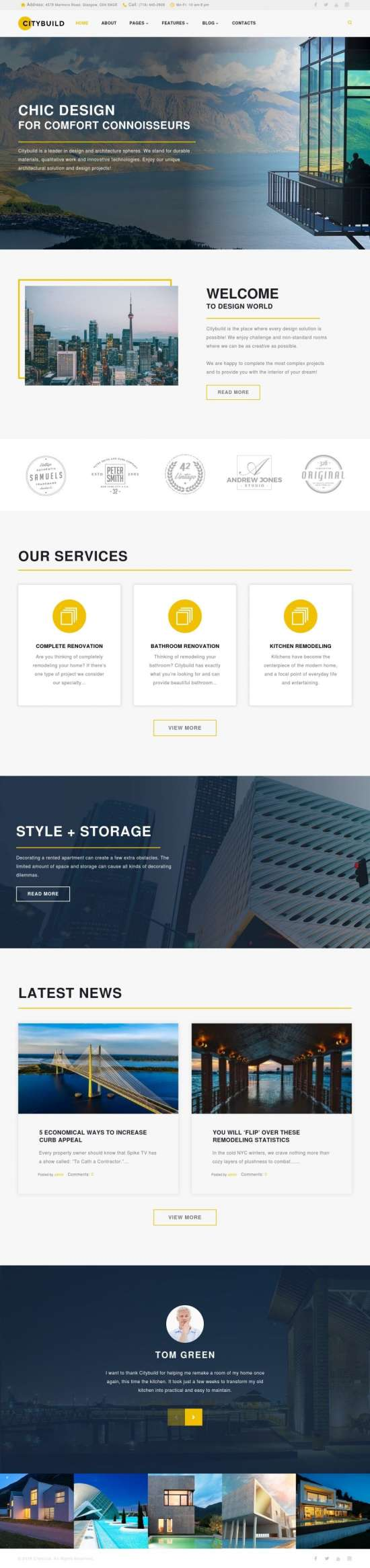 citybuild wordpress theme 01 550x2333 - Citybuild Wordpress Theme