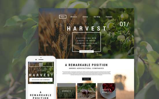 59096 big 550x342 - Top 7 Eco-Friendly WordPress Themes For Agriculture Businesses in 2018