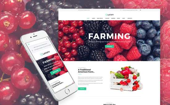 63957 big 550x341 - Top 7 Eco-Friendly WordPress Themes For Agriculture Businesses in 2018