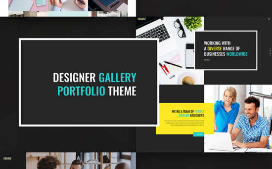 66943 big 550x342 - 15 Newest WordPress Themes For Photographers and Designers
