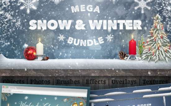 65945 big 550x342 - Christmas Holidays Are Coming: Get a Bunch of Design Resources to Decorate Your Website