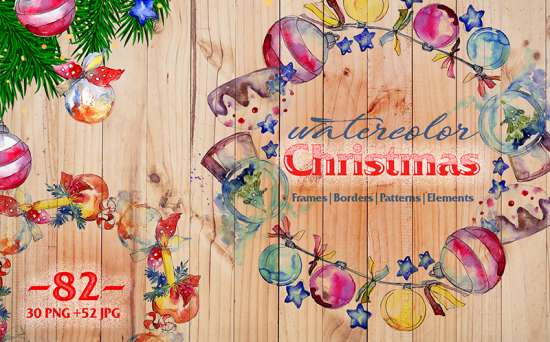 73605 big 550x342 - Christmas Holidays Are Coming: Get a Bunch of Design Resources to Decorate Your Website