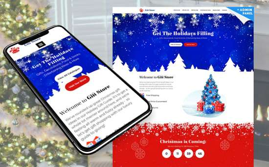 73785 big 550x342 - Christmas Holidays Are Coming: Get a Bunch of Design Resources to Decorate Your Website