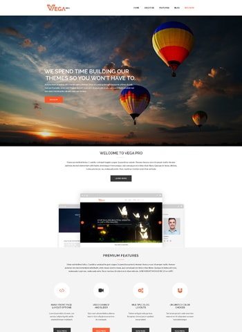 vega pro 1 - LyraThemes WordPress Themes