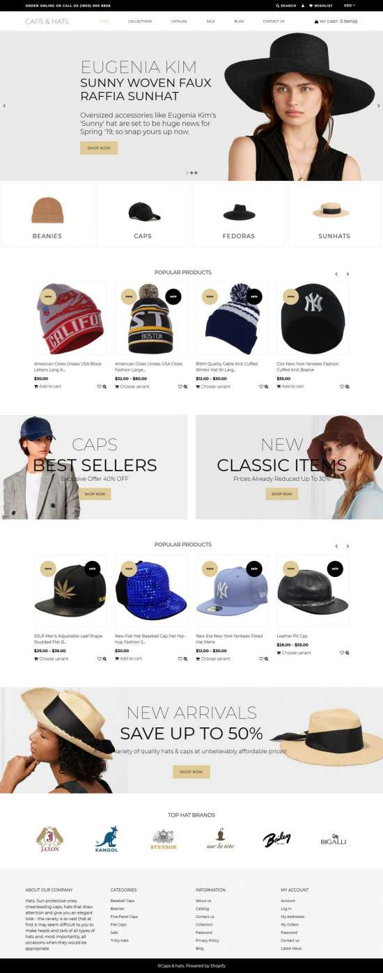 caps and hats shopify theme 01 550x1398 - Caps and Hats Shopify Theme