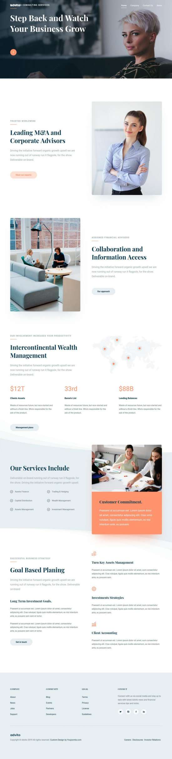 advito joomla template 01 550x2418 - Advito Joomla Template
