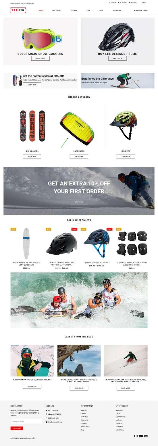 exxxtreme shopify theme 01 550x1553 - Exxtreme Shopify Theme