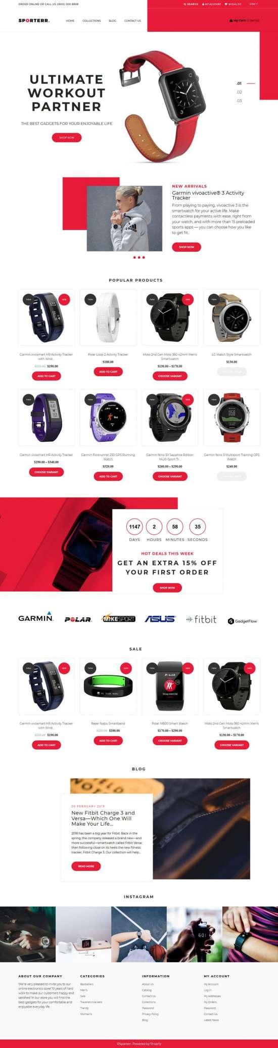 sporterr shopify theme 01 550x2073 - Sporterr Shopify Theme