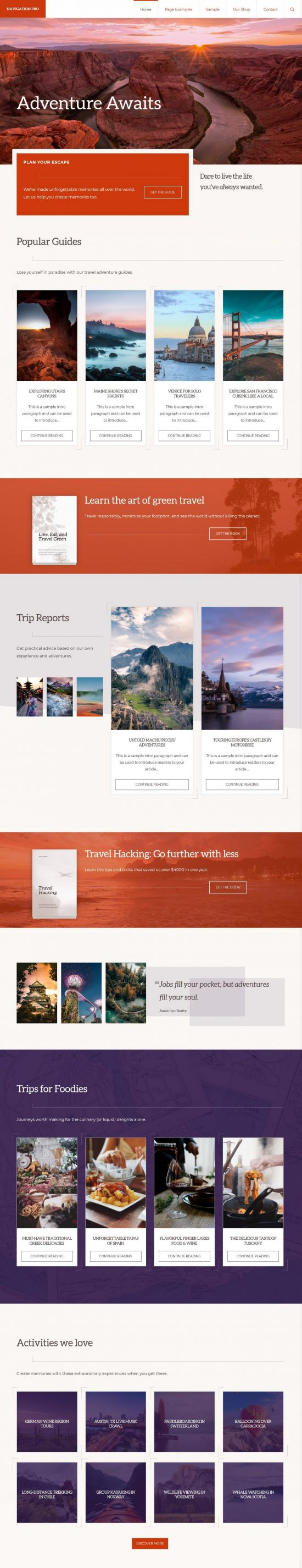 navigation pro studiopress wordpress theme 01 550x2852 - Navigation PRO WordPress Theme