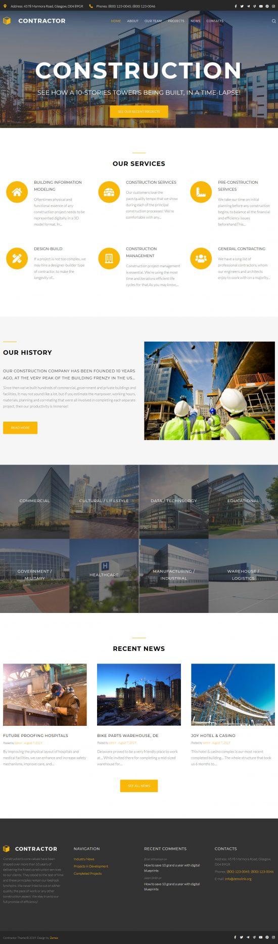 contractor elementor wordpress theme 01 550x1865 - Contractor Elementor WordPress Theme