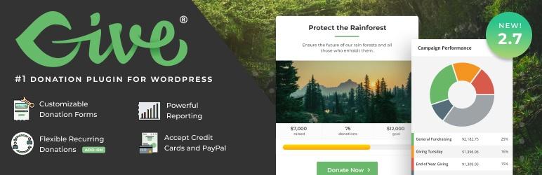 givewp wordpress plugin 01 - GiveWP WordPress Plugin