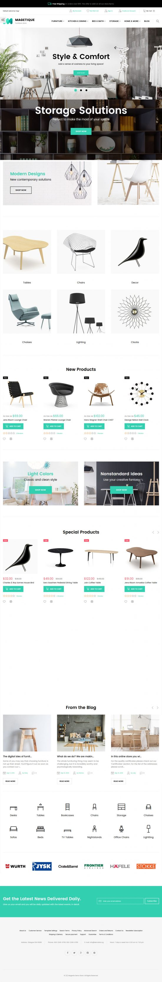 magetique magento 2 theme 01 550x3324 - Magetique Furniture Magento 2 Theme