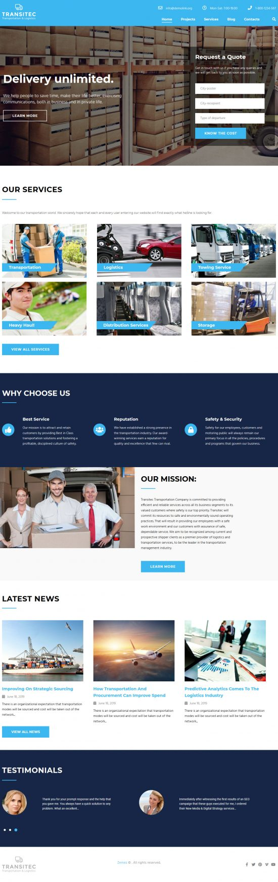 transitec wordpress theme 01 550x1741 - Transitec WordPress Theme