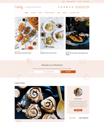 cookely - Wpzoom Premium Wordpress Themes