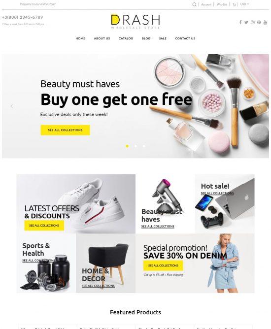 drash premium shopify theme 01 550x668 - Drash Premium Shopify Theme