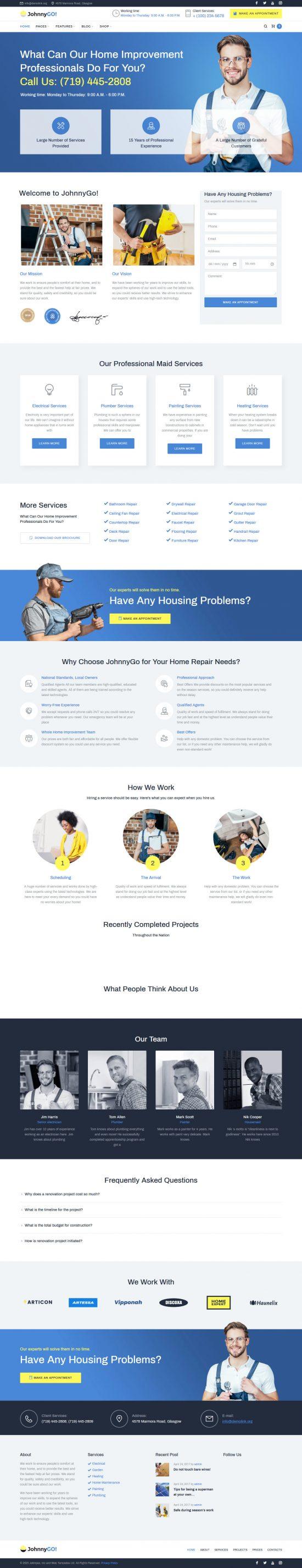 johnnygo premium wordpress theme 01 550x2852 - JohnnyGo Premium WordPress Theme