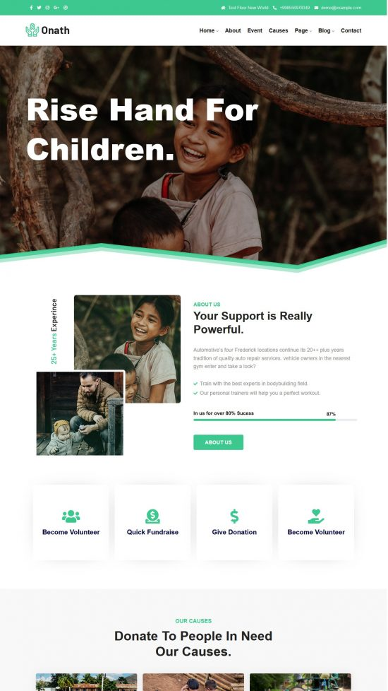 onath premium wordpress theme 01 550x978 - Onath Premium WordPress Theme