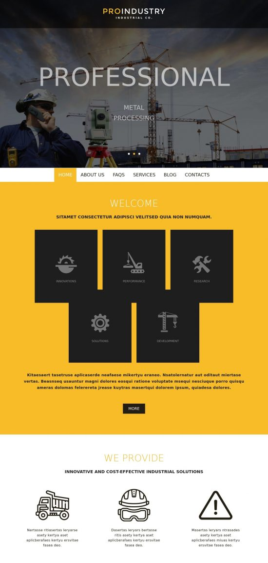 proindustry premium wordpress theme 1 550x1152 - ProIndustry Premium WordPress Theme